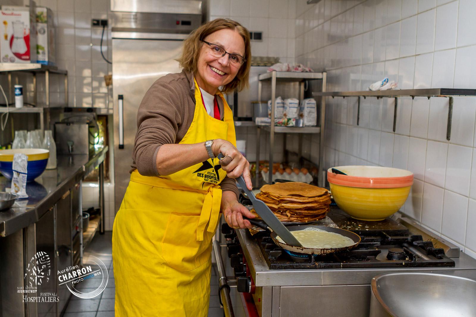 Dans les cuisines en Aveyron