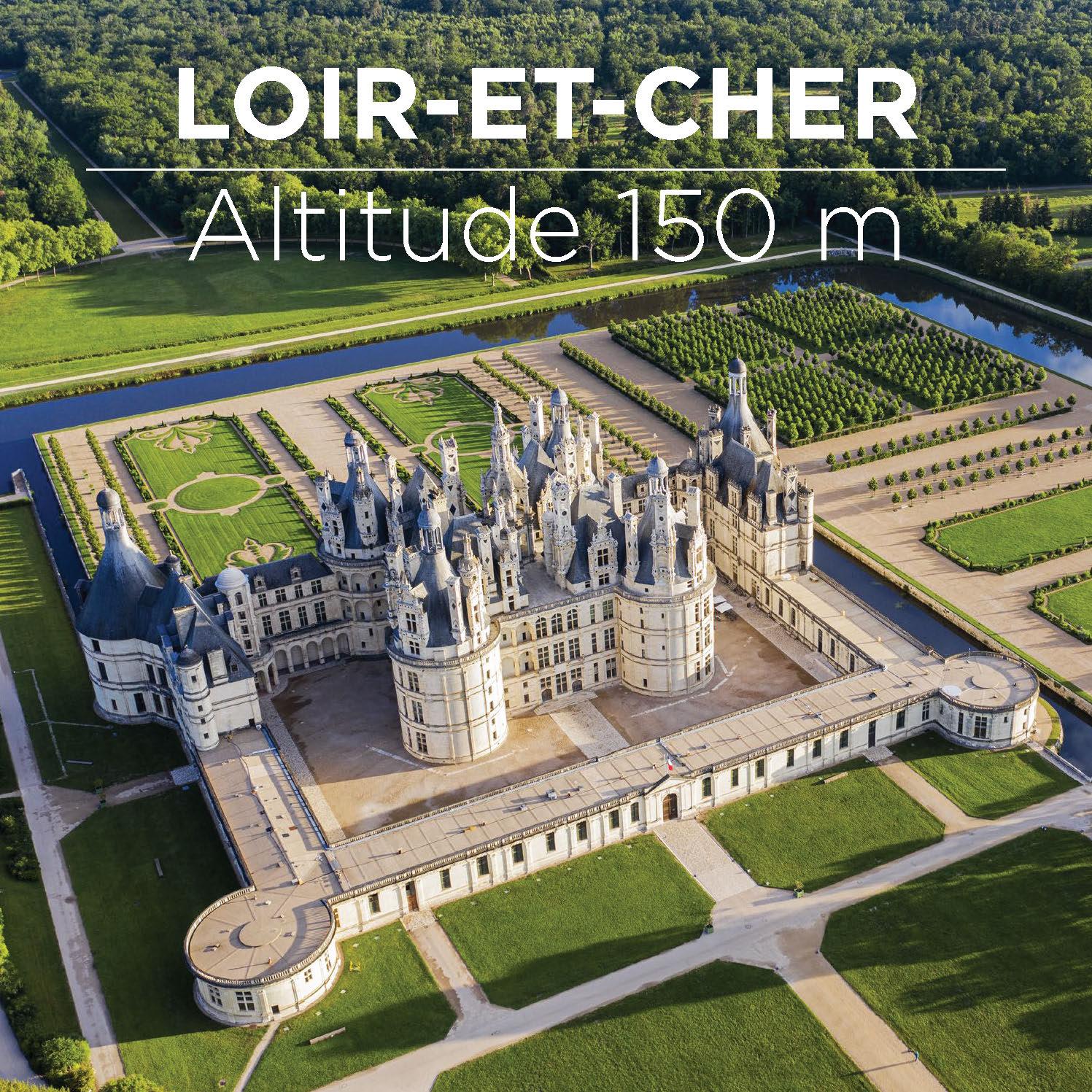 Loir-et-Cher - Altitude 150m