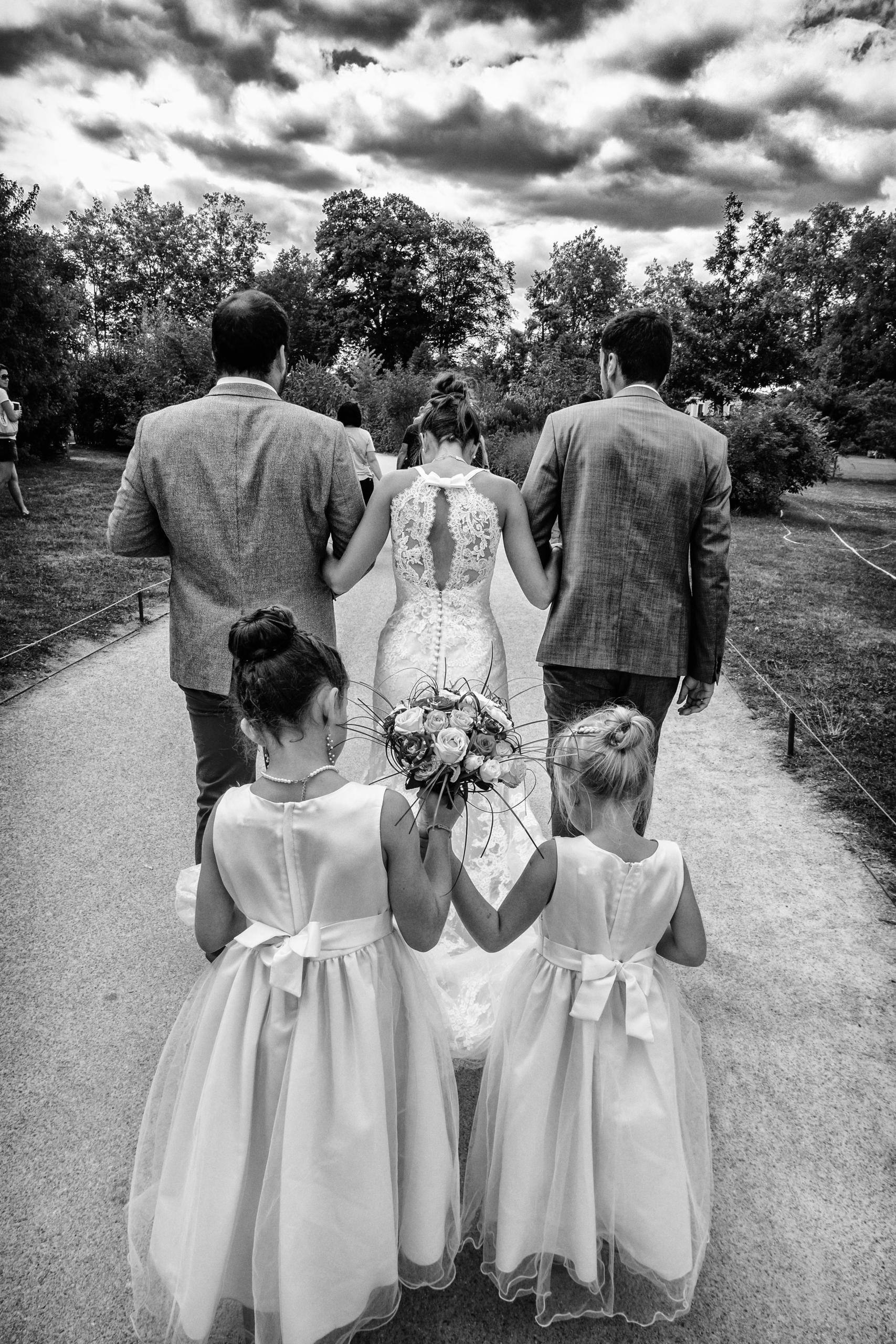 Photo Mariage Noir-et-Blanc